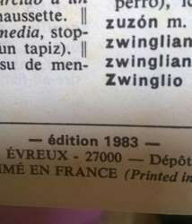 Diccionario de Frances Ed. 1983