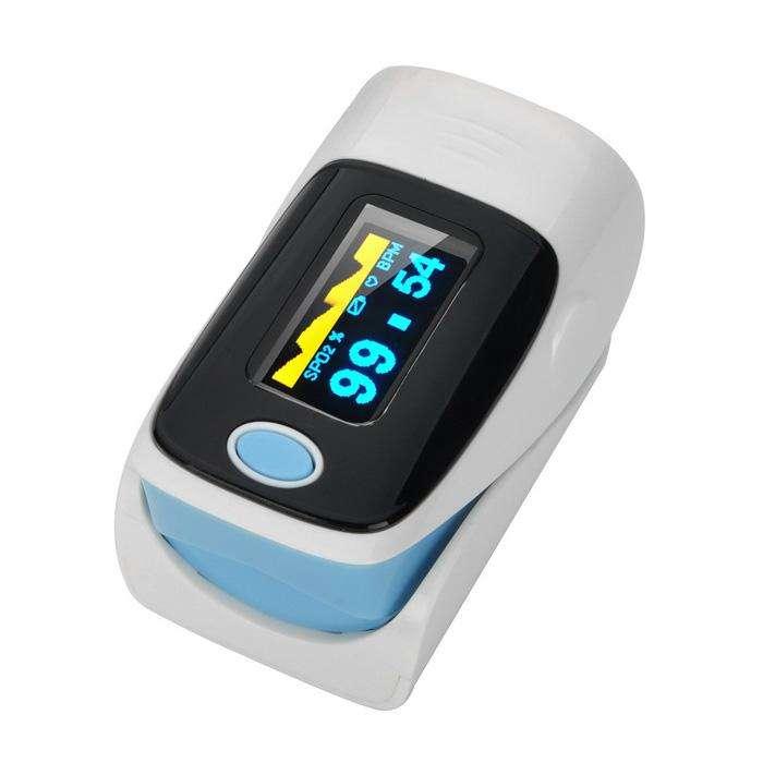 Pulso Oximetro Pulsoximetro Saturador Frecuencia Cardíaca Ceritificado Nuevos Con Garantia
