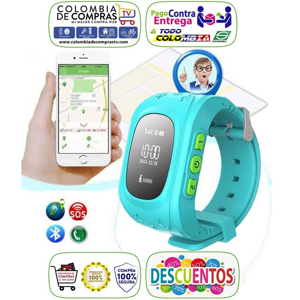 Reloj Smartwatch GPS para Niños SOS Llamadas Inteligente, Nuevos, Originales, Garantizados...