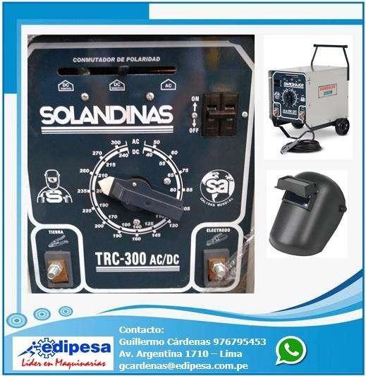 SOLANDINAS TRC-300 SOLDADORA ELÉCTRICA
