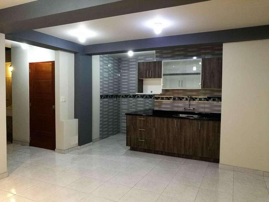 Departamento alquiler en San Borja de Estreno 78m2 super bien ubicada