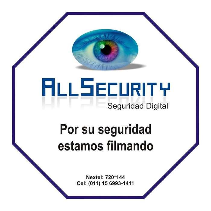 Cámaras de Seguridad. Alarmas , Control