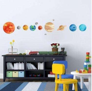 Planetas - Decoración infantil, 90.000