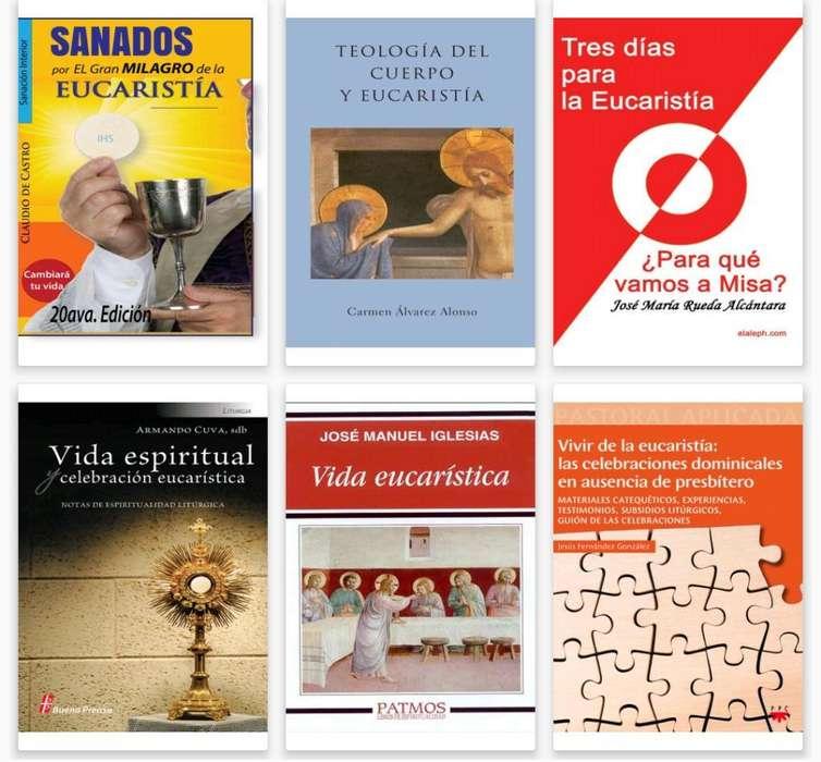 Mas de 45 Libros sobre Eucaristia