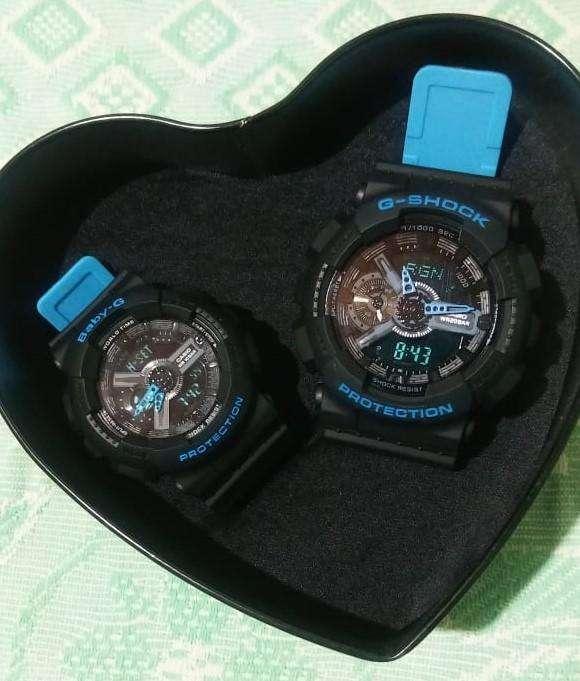 Relojes Pareja G-Shock y Baby-G