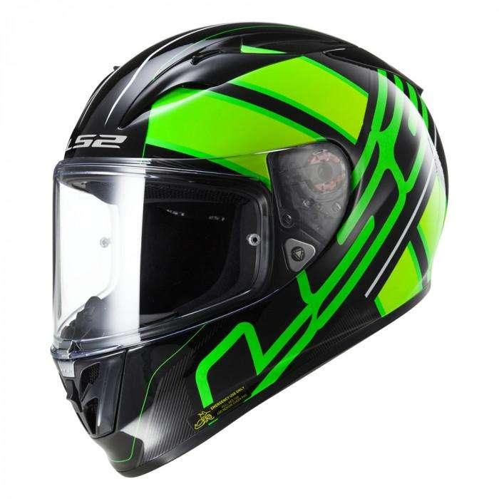 Casco Moto LS2 Helmet Talla L