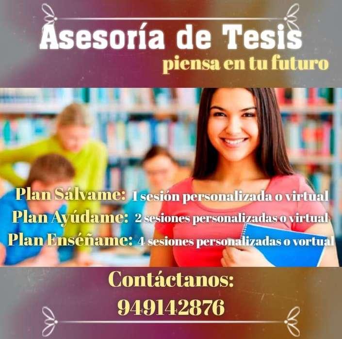Asesoria Academica Profesional Tesis