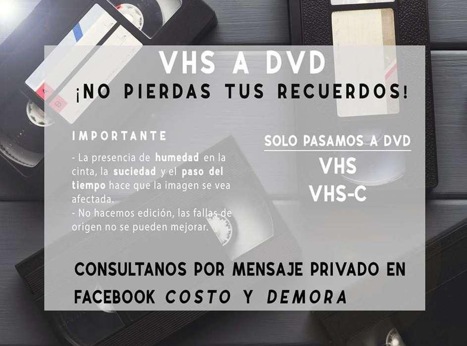VHS a DVD La Plata