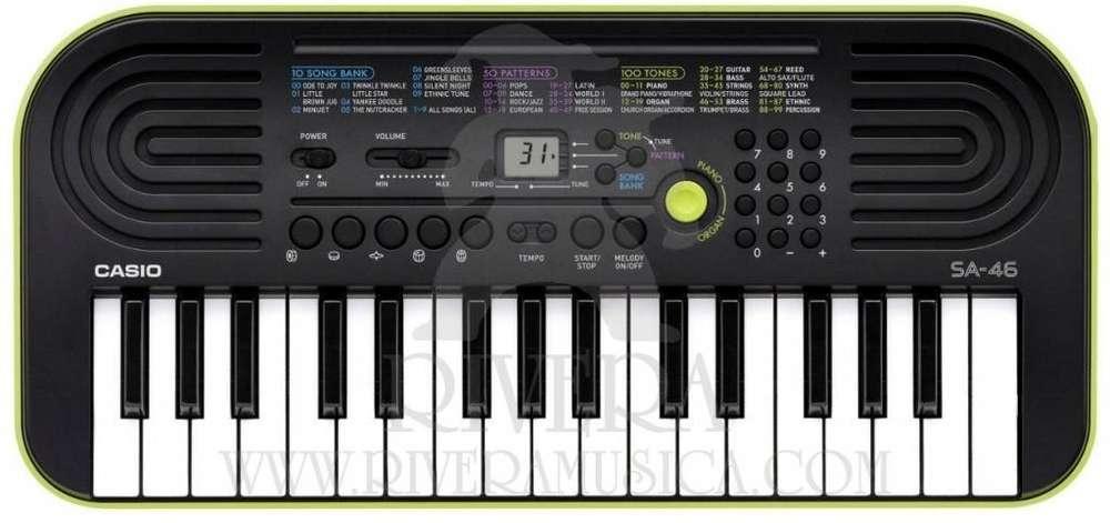 Teclado Casio Sa 46 P/ Niños 32 Teclas Portatil Mini Organo