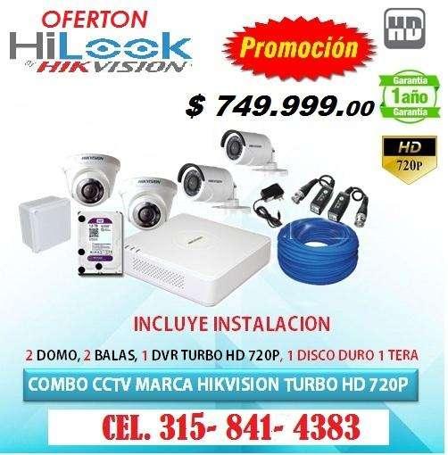 SUPER OFERTA de kits de cámaras de seguridad