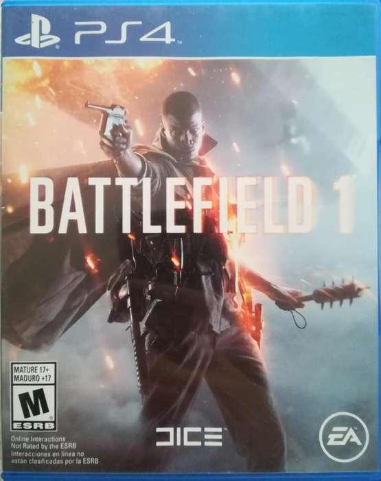Vendo Battlefield 1 Playstation 4