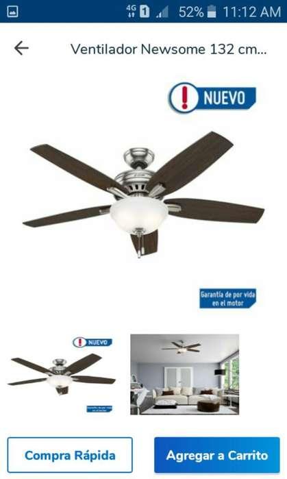 <strong>ventilador</strong> Newsome 132 Cm 5077
