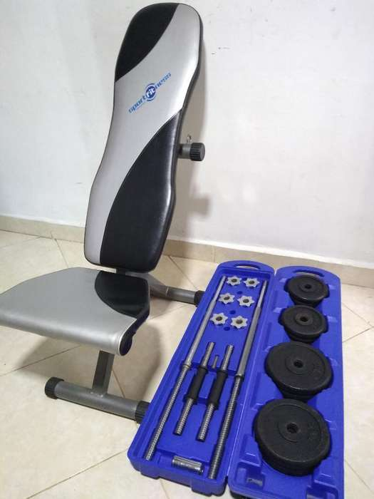 Banca, Silla Gym, Ajustable, Banco, Pres
