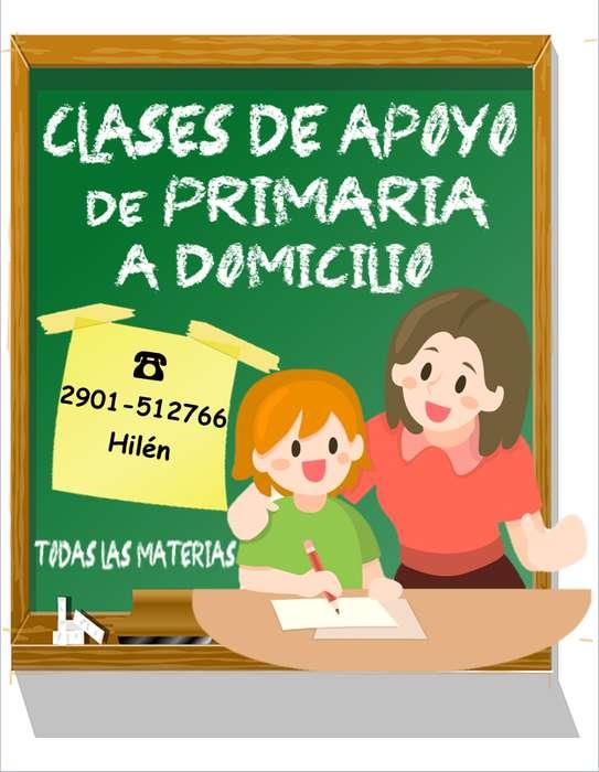 CLASES PARTICULARES DE PRIMARIA A DOMICILIO
