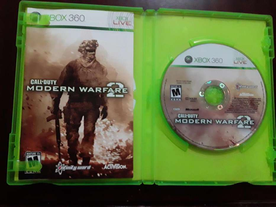 CALL OF DUTY MODERN WARFARE 2 - XBOX 360 - JUEGO ORIGINAL