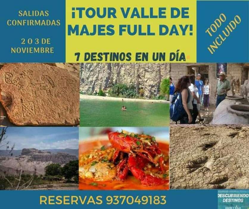 Tour Full Day Al Valle de Majes