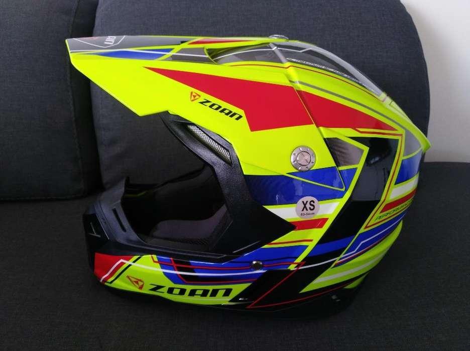 Casco Motocross Zoan