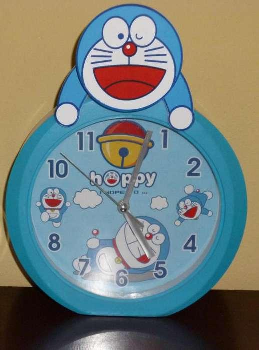 Reloj de pared colección Doraemon