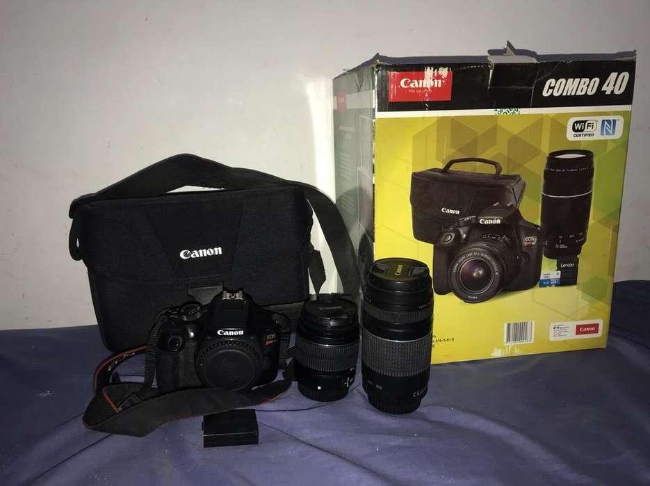 Vendo Camaras Canon T5 Y T6