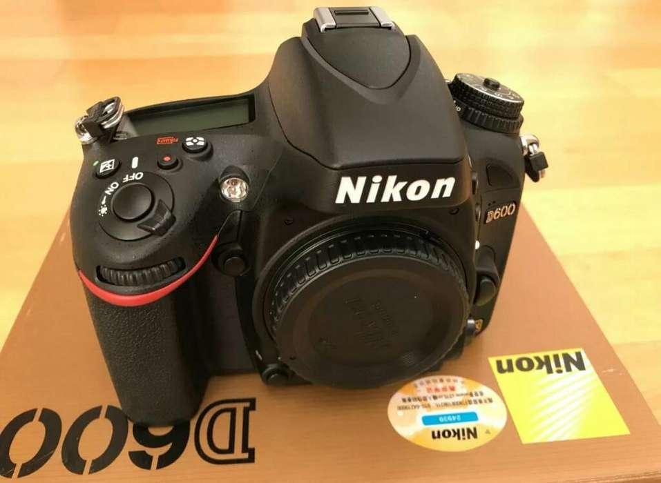 Camara Reflex Digital Nikon D600 24.3mp