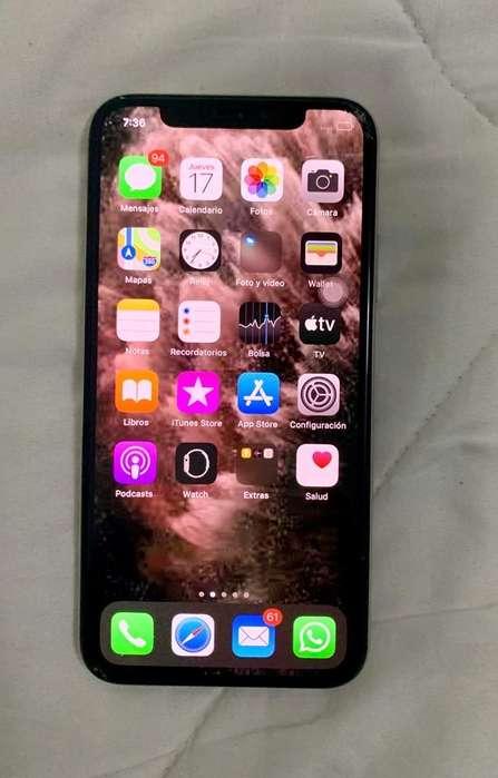 Vendo iPhone Xs de 64 Gb Color Blanco