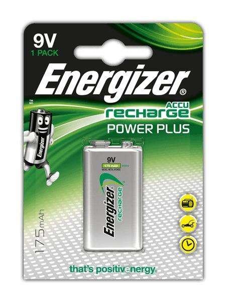 Bateria 9v Recargable Energizer Nueva Blister Sellada