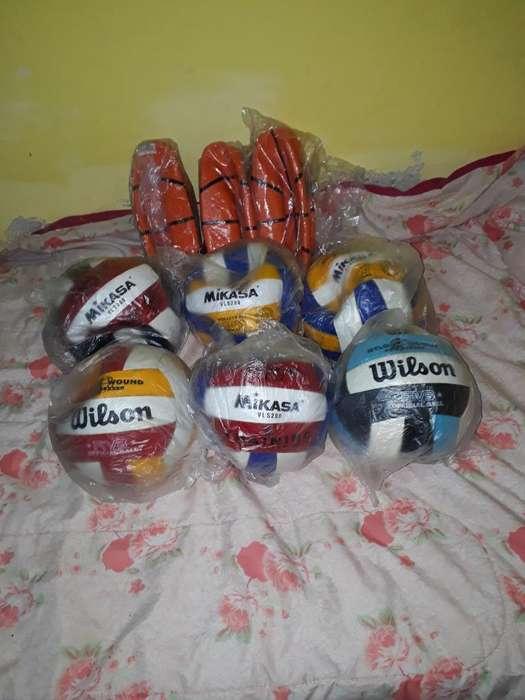 Vendo Pelotas de Voley Y de Basket
