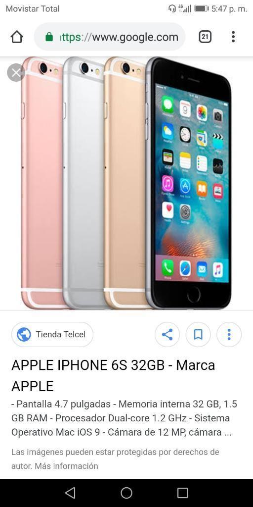 b0772dc0f1e Venta de iPhone 6s Y 2 Camisetas de Perú - Piura