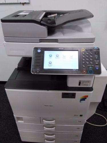 fotocopiadoras a color marca ricoh mp c4502 ultima tecnologia, como nuevas en promocion