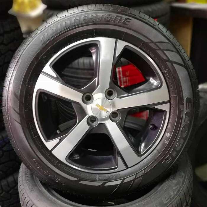 Juego de Rines 15 de Chevrolet Onix