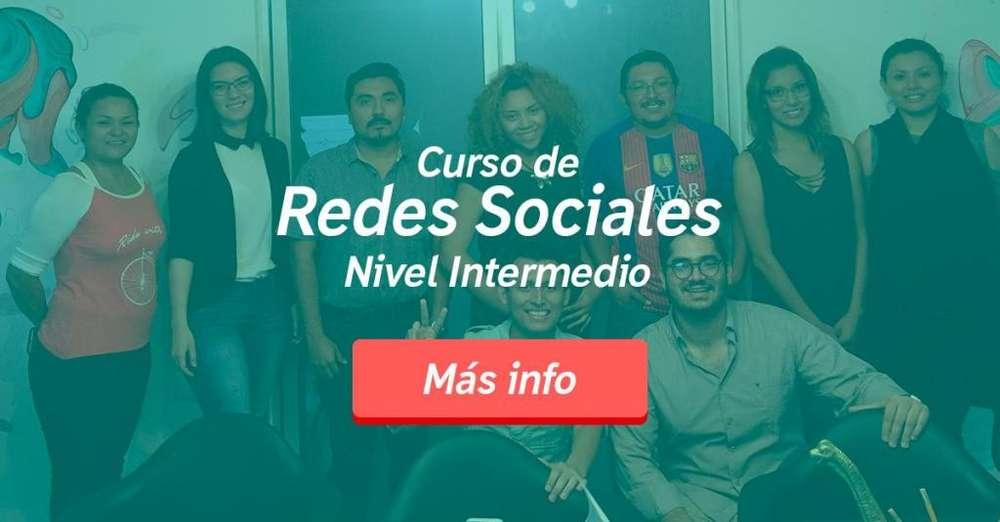 Curso manejo Redes Sociales con Emprendimiento Ecommerce
