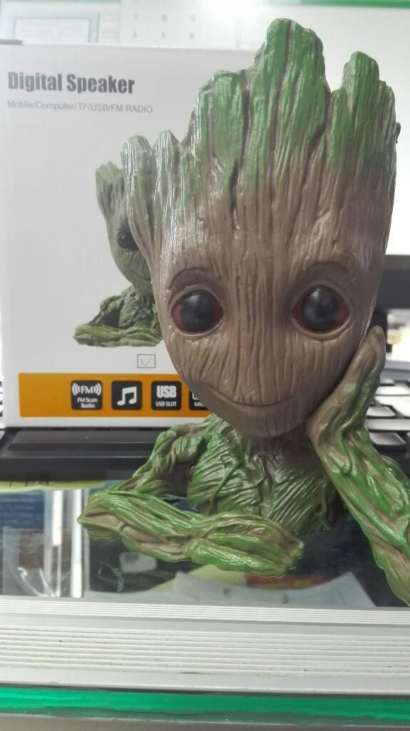 Parlante Groot Usb, Bluetooth, Micro Sd
