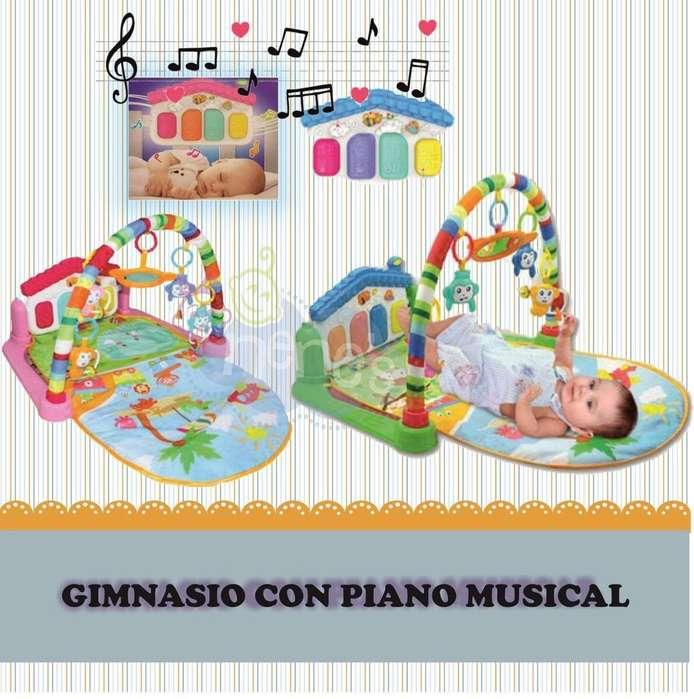 Gimnasio con Piano Marca Boogy