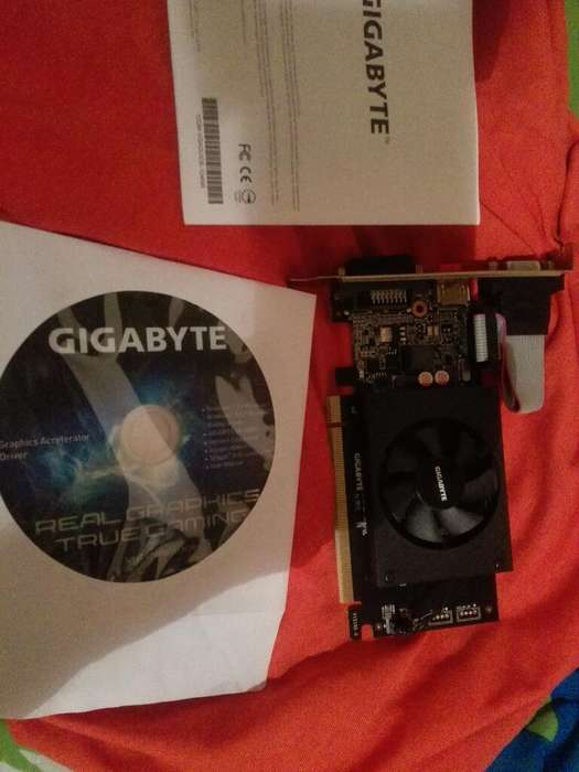 Interfaz Nvidia Gygabys 710