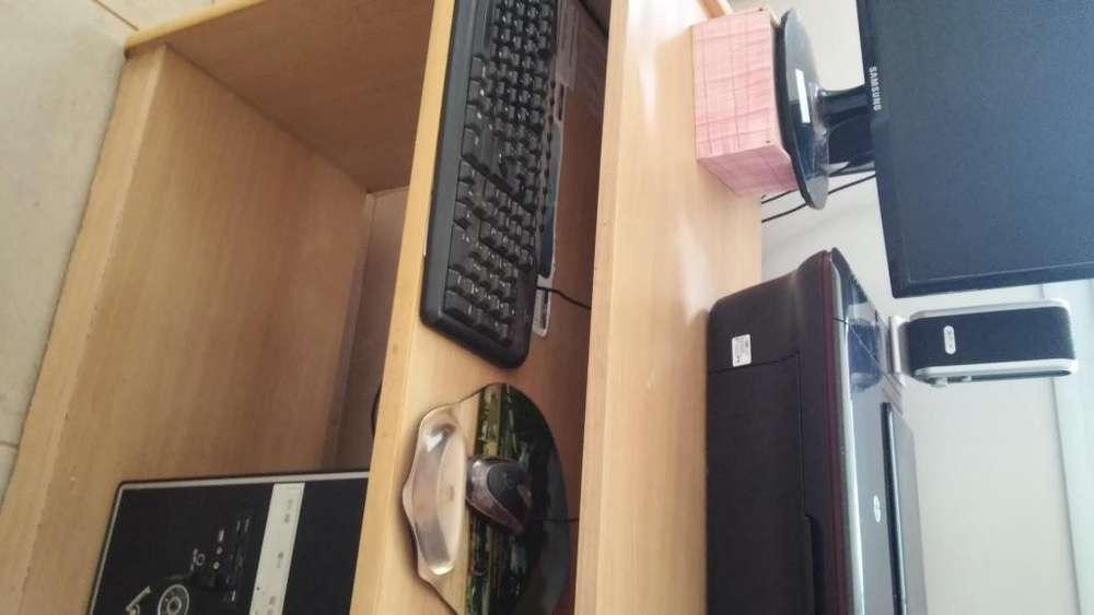 GRAN OPORTUNIDAD VENDO COMPUTADORA CPU 2,70 GHz 2.00 GB RAM - IMPRESORA HP 3050 sin cartucho , TECLADO Y MESA