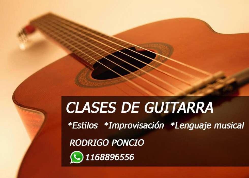 Clases de Guitarra Criolla Y Eléctrica