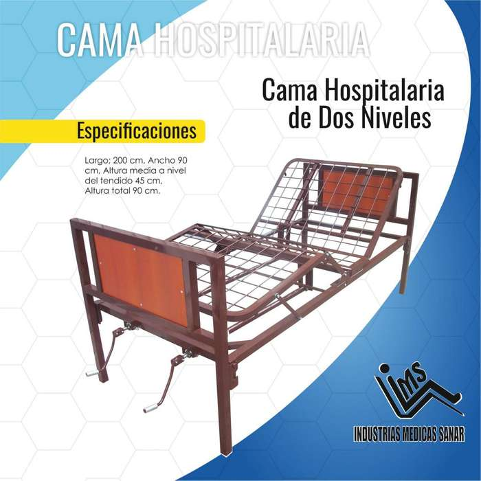 CAMA HOSPITALARIA DOS NIVELES NUEVA !!!