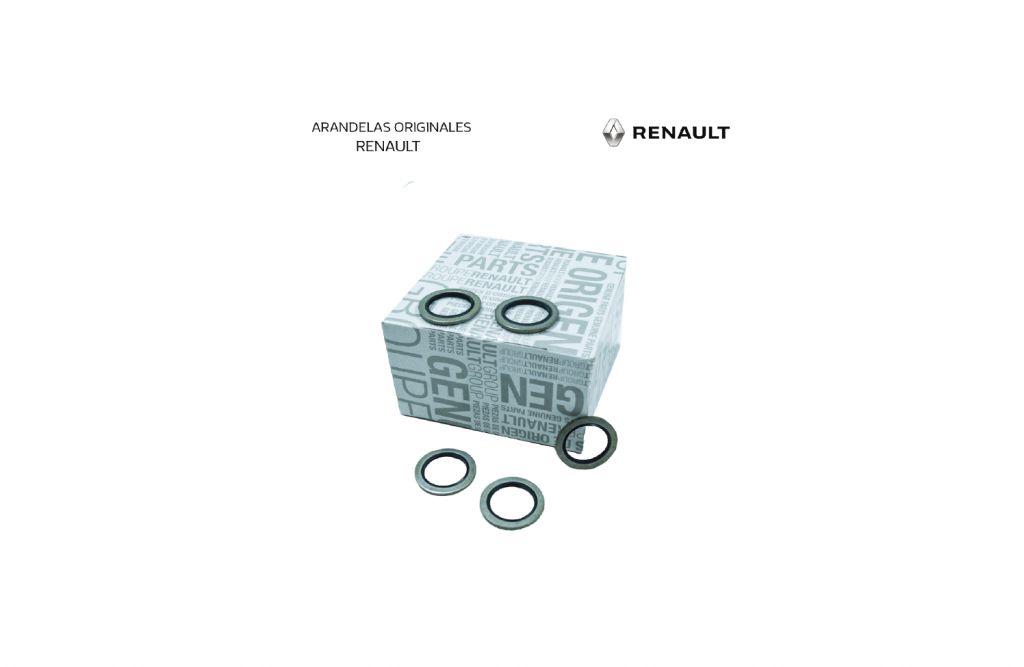 Repuesto original Renault Arandela tapón del carter