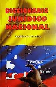 Diccionario jurdico colombiano