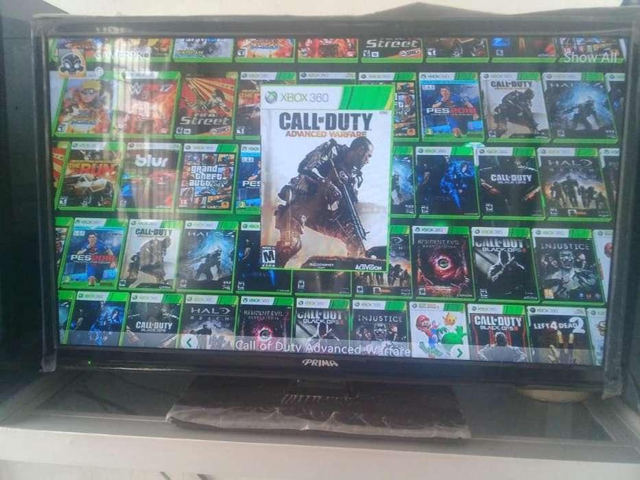 Vendo 3 Consolas de Xbox 360 con Tv 24P.