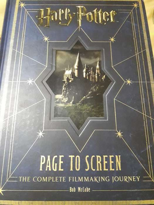 Harry Potter Libro de Arte Filmografia
