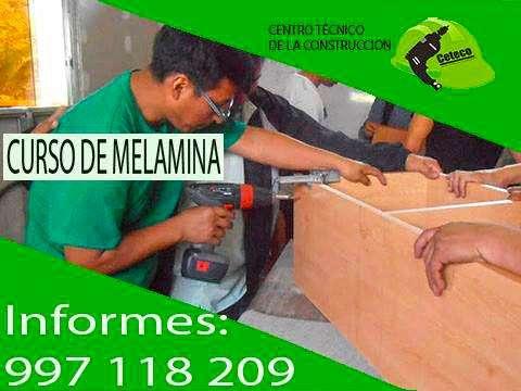 fabrica muebles de la mejor calidad inscríbite al curso de melamina en S.J.L