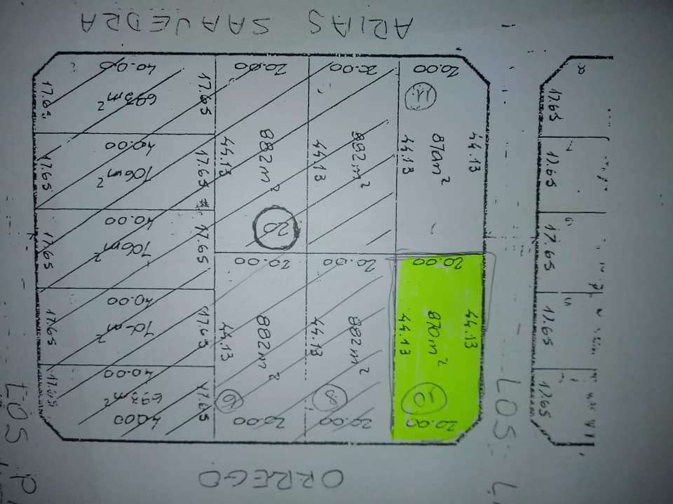 DIEGO NOGUEROL CCI 550 VENDE TERRENO KM 6,5 RINCON