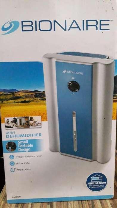 Vendo deshumedecedor Bionaire BMD100-LA051, nuevo