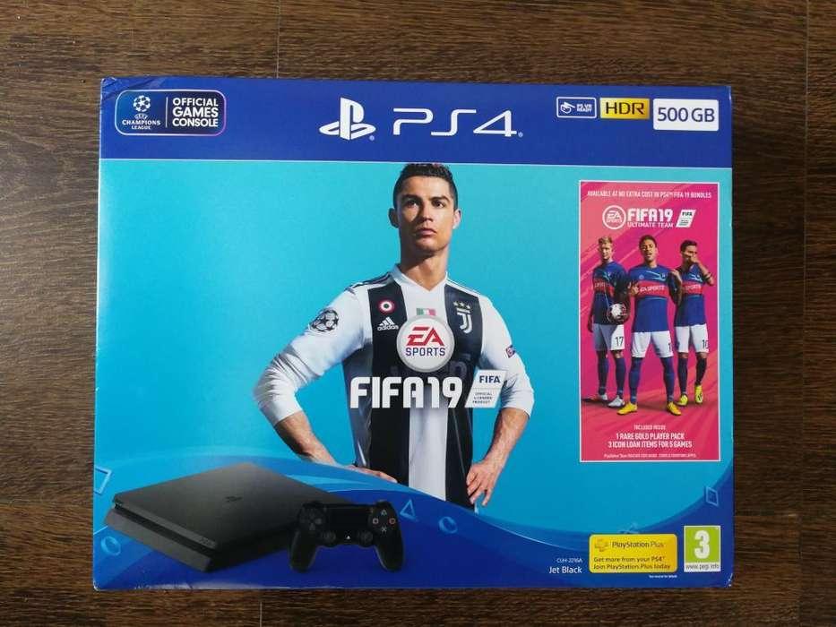 Play Station 4 Nueva Edición Fifa19