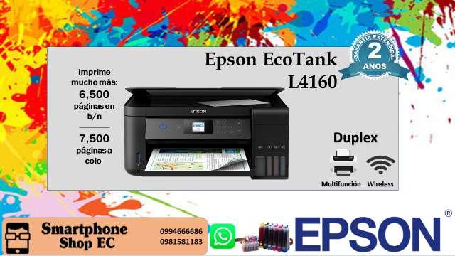 Impresora multifuncional Epson EcoTank L4160 Duplex
