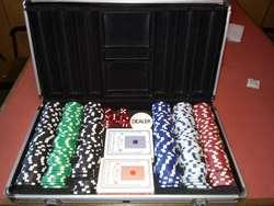 Maletin con Juego de Poker