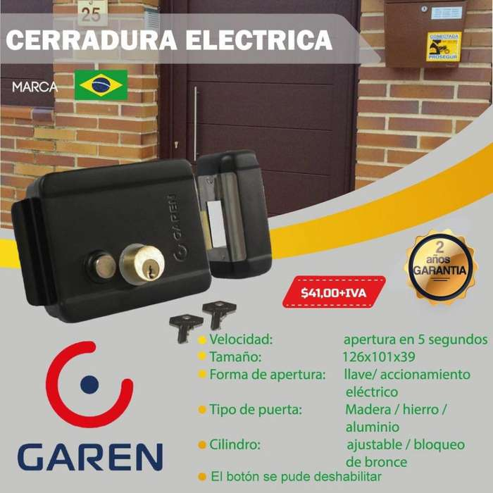 Chapa Electrica /cerradura electrica