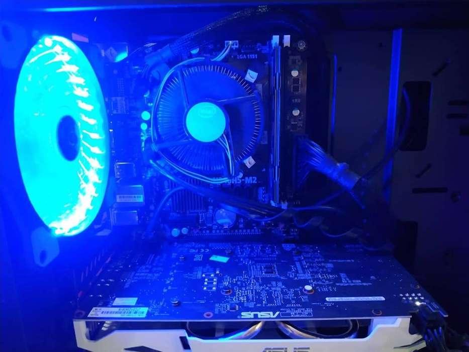 PC Gamer/Diseño i3 8100 Octava Generación / 8GB Ram Drr4 2400 / GTX 1060 3GB Drr5 Dual Fan Asus
