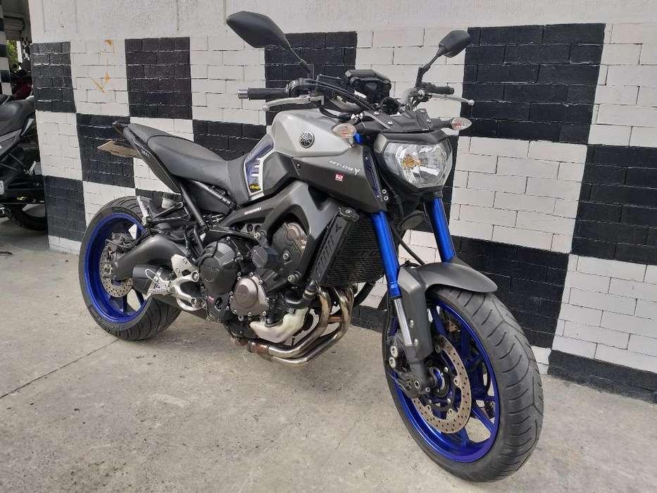 Yamaha Mt 09 Modelo 2016
